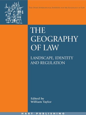 cover image of The Geography of Law