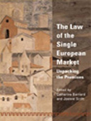 cover image of The Law of the Single European Market