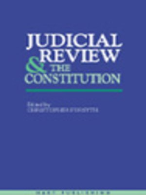 cover image of Judicial Review & the Constitution