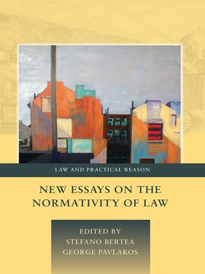 cover image of New Essays on the Normativity of Law
