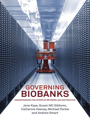 cover image of Governing Biobanks