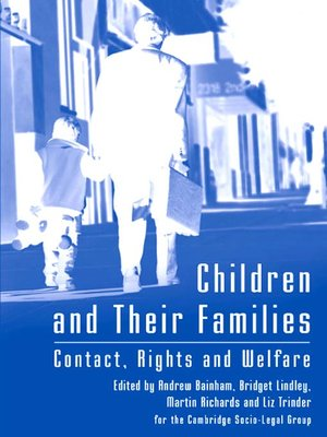 cover image of Children and Their Families
