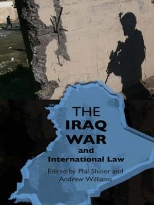cover image of The Iraq War and International Law