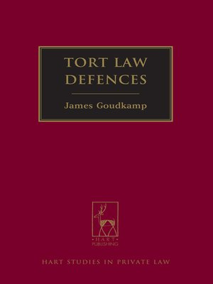 cover image of Tort Law Defences