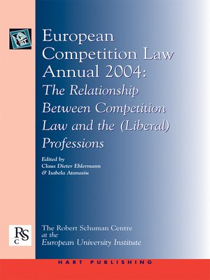 cover image of European Competition Law Annual 2004