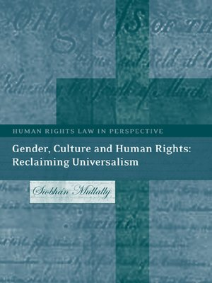 cover image of Gender, Culture and Human Rights