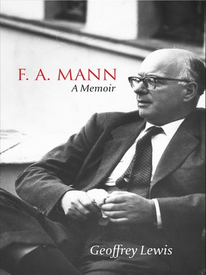 cover image of F. A. Mann