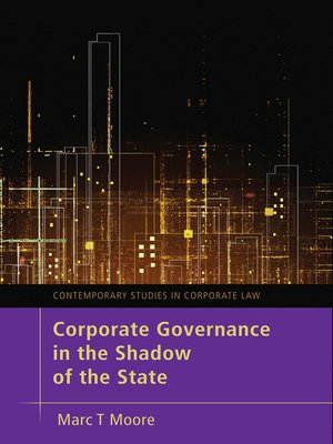 cover image of Corporate Governance in the Shadow of the State
