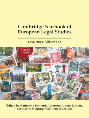 cover image of Cambridge Yearbook of European Legal Studies, Volume 15, 2012-2013