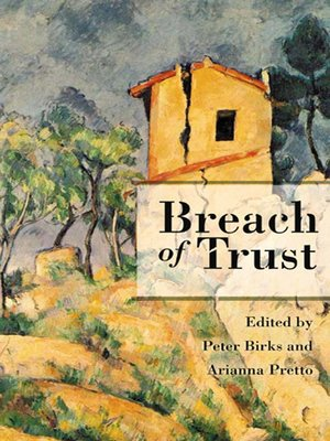 cover image of Breach of Trust