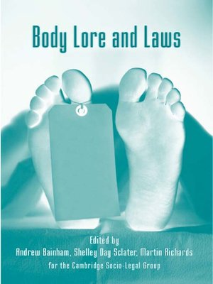 cover image of Body Lore and Laws