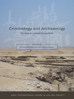 cover image of Criminology and Archaeology