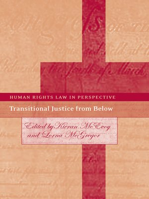 cover image of Transitional Justice from Below
