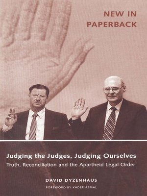 cover image of Judging the Judges, Judging Ourselves