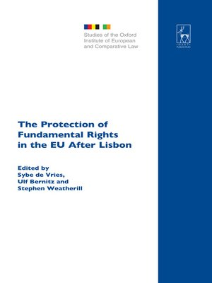 cover image of The Protection of Fundamental Rights in the EU After Lisbon