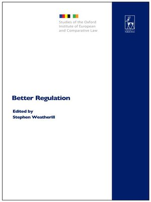 cover image of Better Regulation