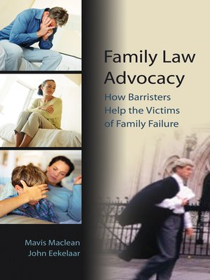 cover image of Family Law Advocacy