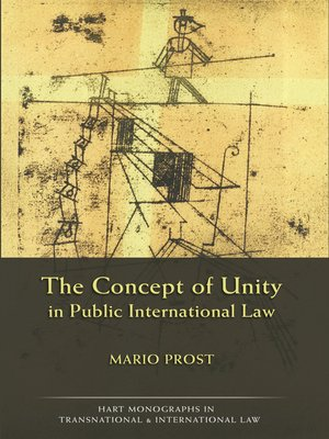 cover image of The Concept of Unity in Public International Law
