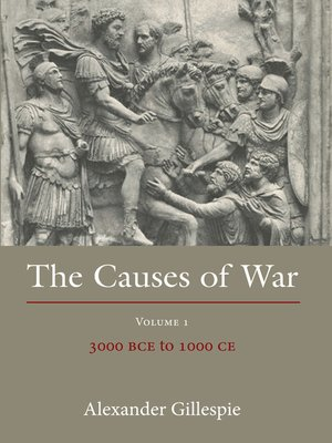 cover image of The Causes of War, Volume 1