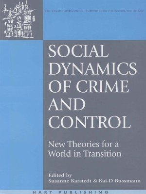 cover image of Social Dynamics of Crime and Control