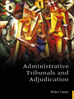 cover image of Administrative Tribunals and Adjudication