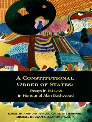 cover image of A Constitutional Order of States?