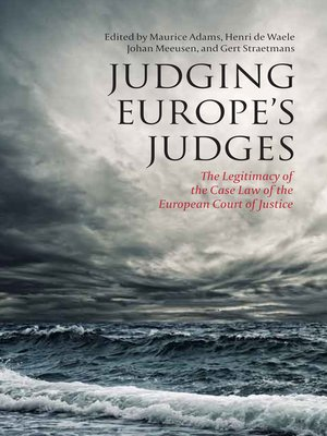 cover image of Judging Europe's Judges