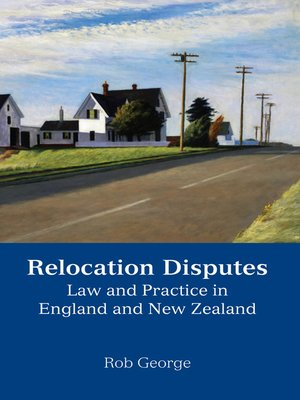 cover image of Relocation Disputes