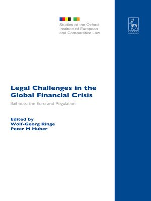 cover image of Legal Challenges in the Global Financial Crisis