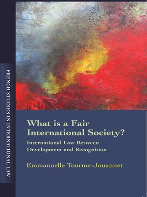 cover image of What Is a Fair International Society?