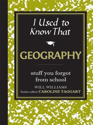 cover image of I Used to Know That: Geography