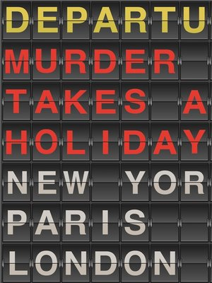 cover image of Murder Takes a Holiday