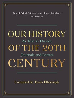cover image of Our History of the 20th Century