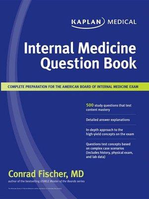 Kaplan USMLE Comprehensive Cases By Conrad Fischer