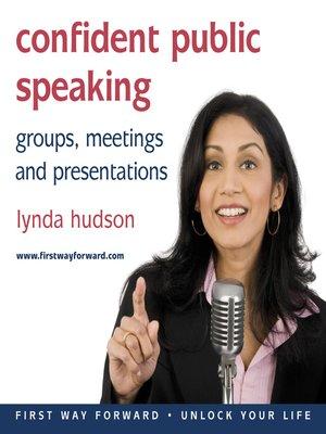 cover image of Confident Public Speaking