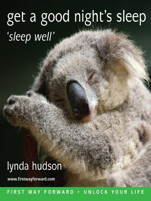 cover image of Get a Good Night's Sleep