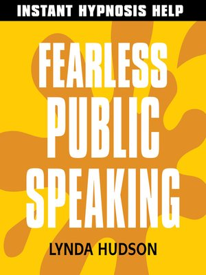 cover image of Fearless Public Speaking
