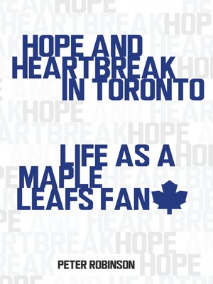 cover image of Hope and Heartbreak in Toronto