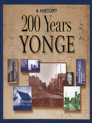 cover image of 200 Years Yonge