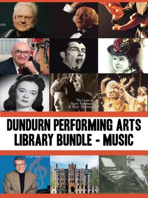 cover image of Dundurn Performing Arts Library Bundle — Musicians