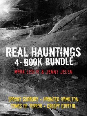 cover image of Real Hauntings 4-Book Bundle