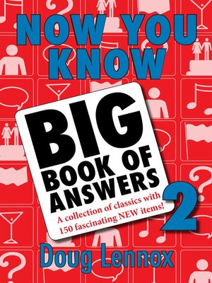 cover image of Now You Know Big Book of Answers 2