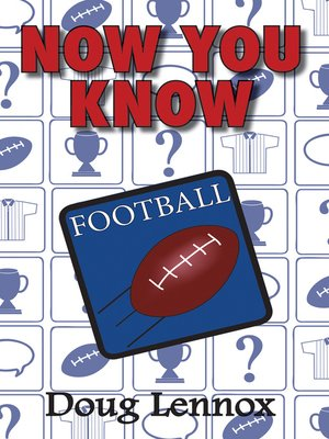 cover image of Now You Know Football