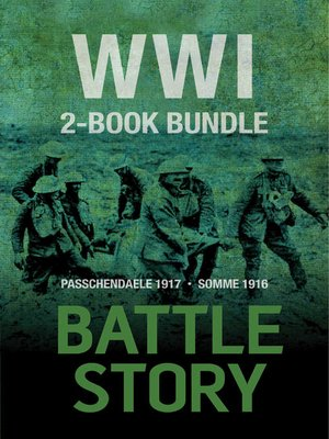 cover image of Battle Stories — WWI 2-Book Bundle