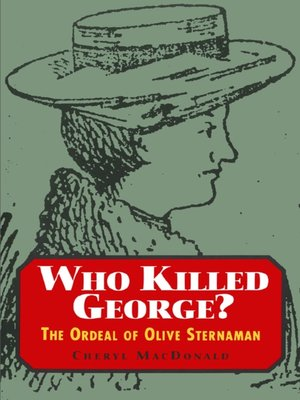 cover image of Who Killed George?