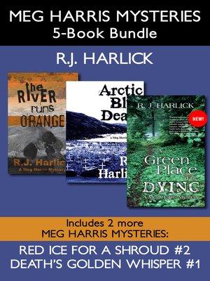cover image of Meg Harris Mysteries 5-Book Bundle