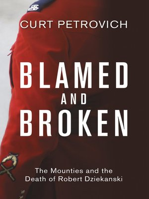 cover image of Blamed and Broken