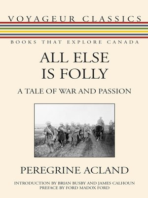 cover image of All Else Is Folly