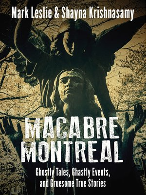 cover image of Macabre Montreal