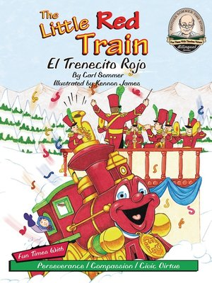 cover image of The Little Red Train / El Trenecito Rojo